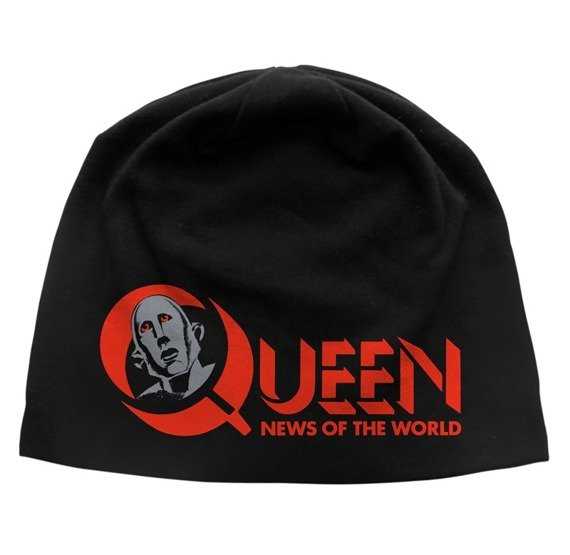 czapka QUEEN - NEWS OF THE WORLD, zimowa