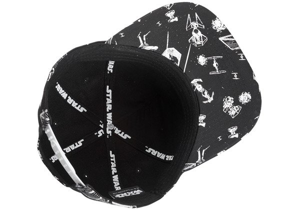czapka STAR WARS - SPACESHIPS SNAPBACK WITH METAL REBEL LOGO