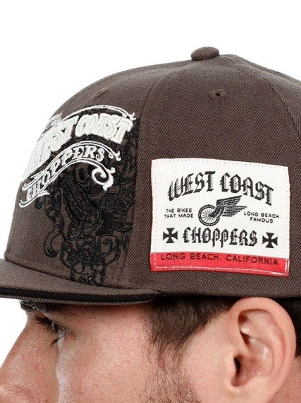 czapka WEST COAST CHOPPERS - WCC BASEBALLCAP WINGS