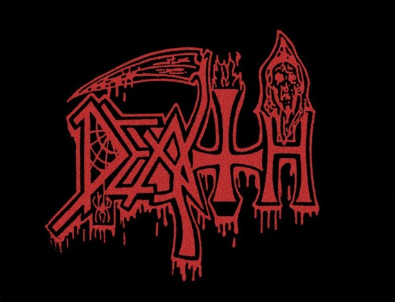 ekran DEATH - OLD RED LOGO