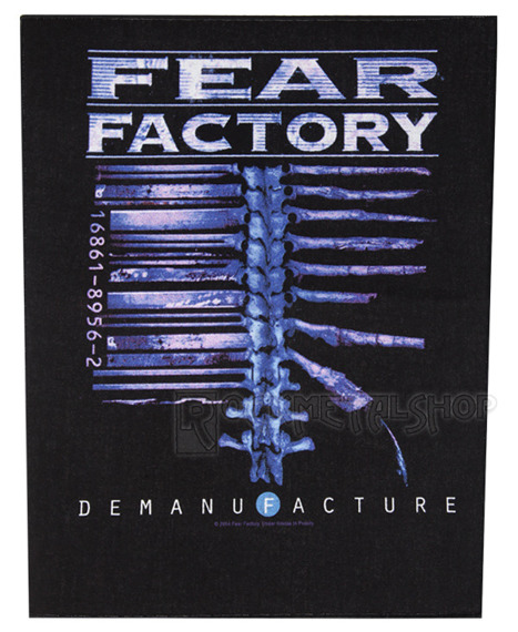 ekran FEAR FACTORY - DEMANUFACTURE