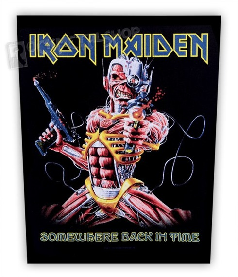ekran IRON MAIDEN - SOMEWHERE BACK IN TIME