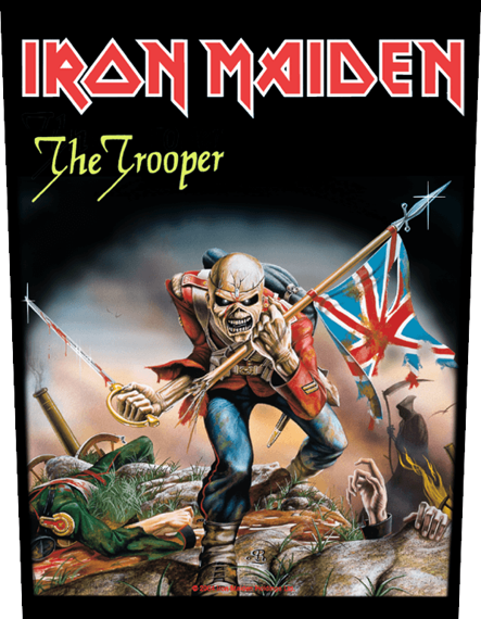 ekran IRON MAIDEN - THE TROOPER