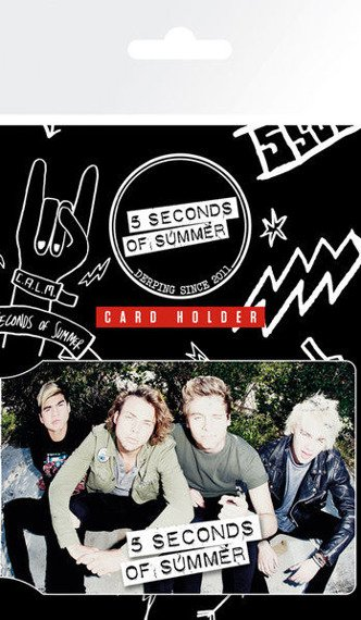 etui na kartę kredytową 5 SECONDS OF SUMMER - SIT