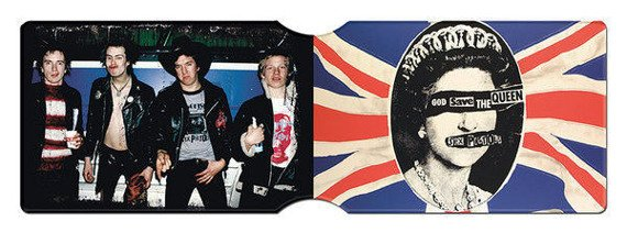 etui na kartę kredytową SEX PISTOLS - GOD SAVE THE QUEEN