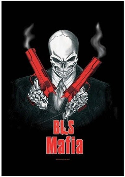 flaga BLACK LABEL SOCIETY - HIT MAN
