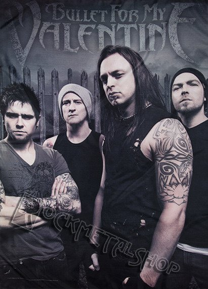 flaga BULLET FOR MY VALENTINE