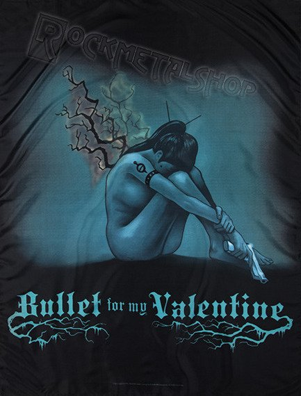 flaga BULLET FOR MY VALENTINE - BURNING WINGS