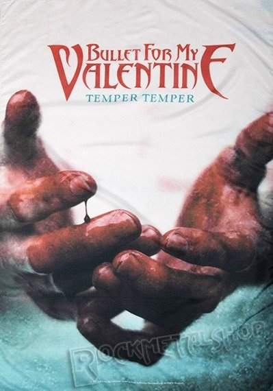 flaga BULLET FOR MY VALENTINE - TEMPER TEMPER