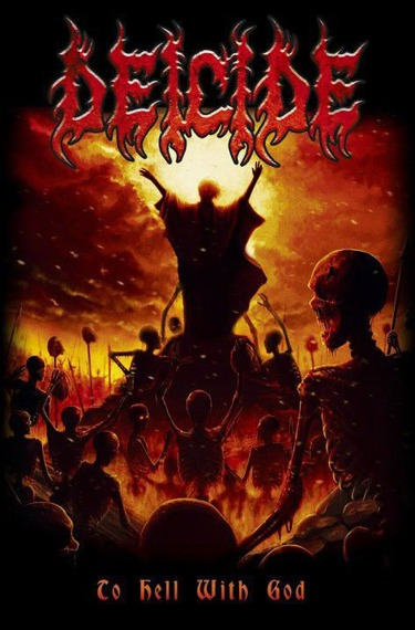flaga DEICIDE - TO HELL WITH GOD