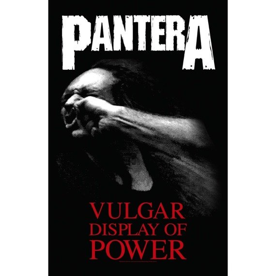 flaga PANTERA - VULGAR DISPLAY OF POWER