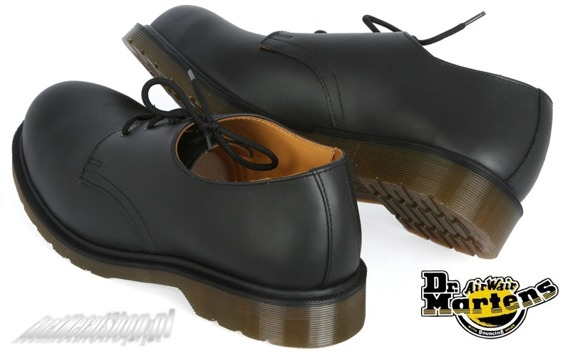 glany DR. MARTENS - DM 1925 5400 PW BLACK FINE HAIRCELL