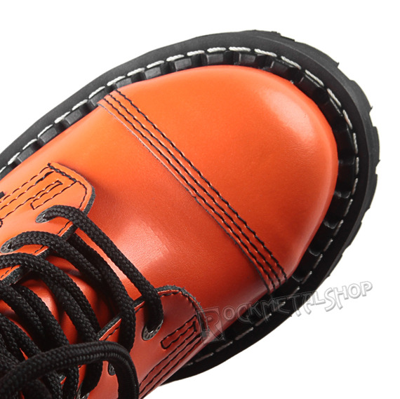 glany STEEL - FULL ORANGE (8 dziurek)