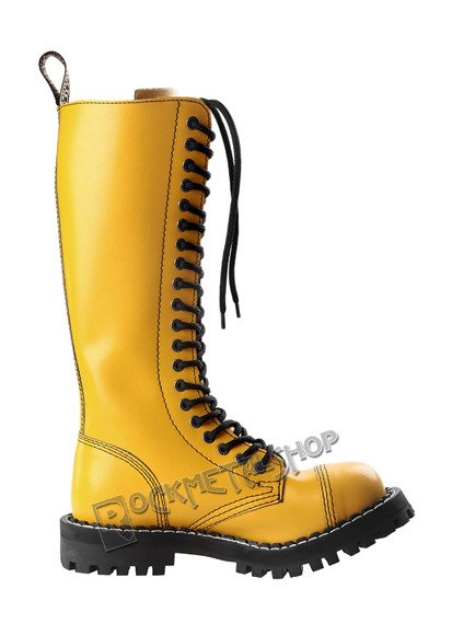 glany STEEL - FULL YELLOW (20 dziurek)