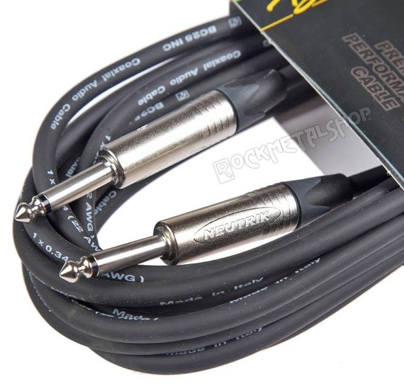 kabel gitarowy BOSTON N-SERIES jack NEUTRIK prosty/prosty / 3m