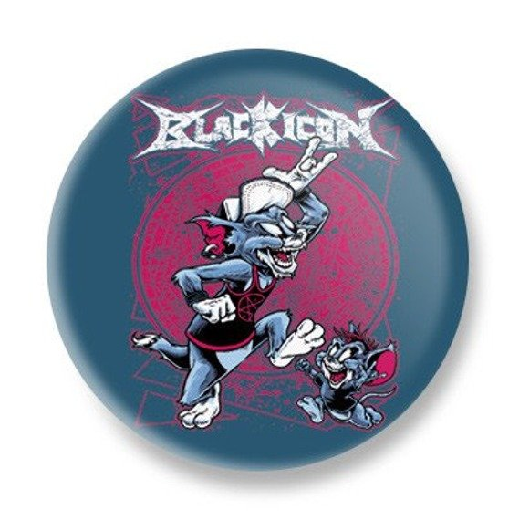 kapsel BLACK ICON - TOM AND JERRY (KICON036 STEEL BLUE)