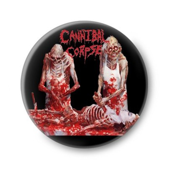 kapsel CANNIBAL CORPSE - BUTCHERED AT BIRTH
