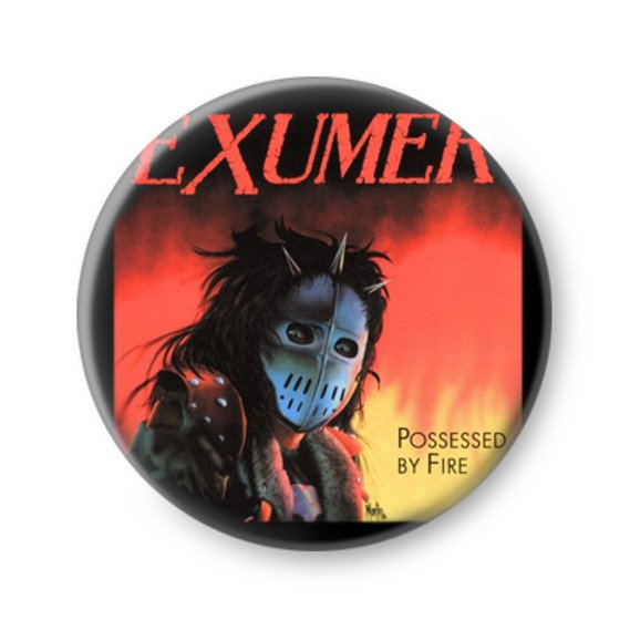 kapsel EXUMER - POSSESSED BY FIRE
