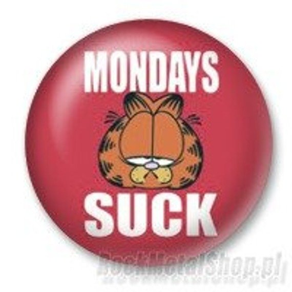 kapsel GARFIELD - MONDAYS SUCK