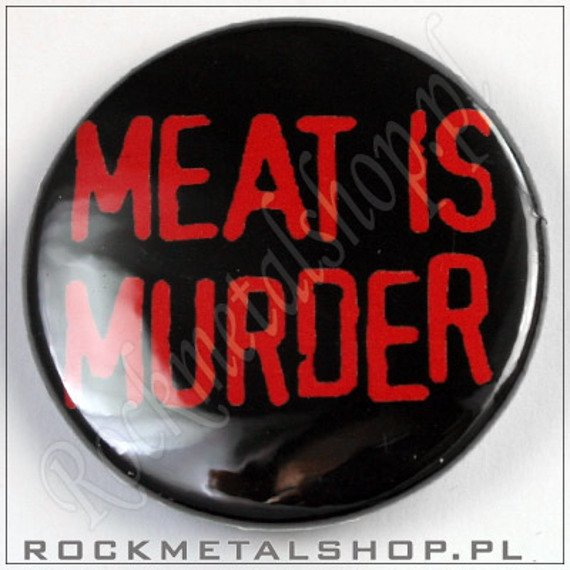 kapsel MEAT IS MURDER