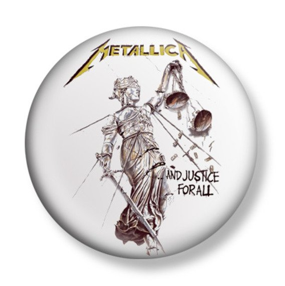 kapsel METALLICA - AND THE JUSTICE FOR ALL