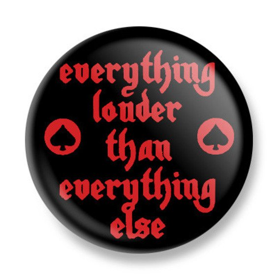 kapsel MOTORHEAD - EVERYTHING LOUDER THAN EVERYONE ELSE Ø25mm