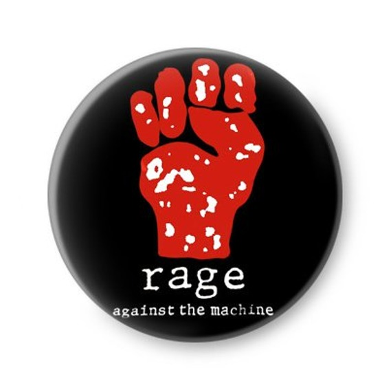 kapsel RAGE AGAINST THE MACHINE