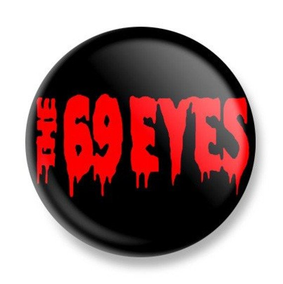 kapsel THE 69 EYES - RED LOGO