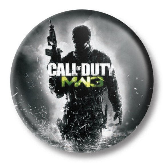 kapsel średni CALL OF DUTY: MODERN WARFARE 3 Ø38mm