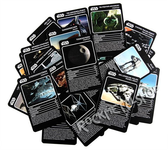 karty STAR WARS - VEHICLES TOP TRUMPS