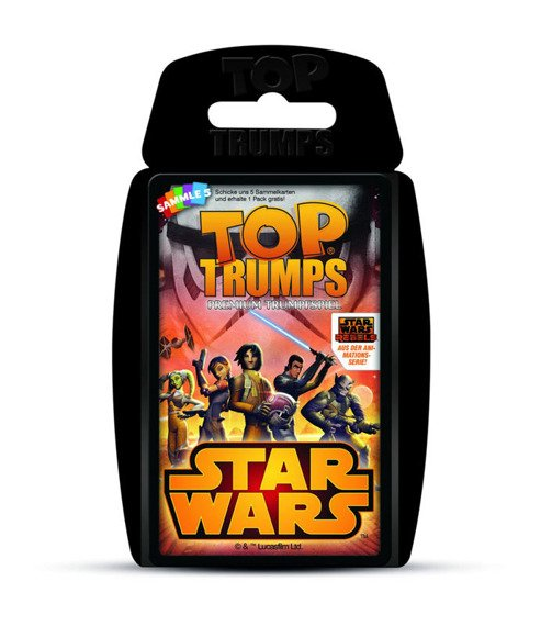 karty do gry STAR WARS - REBELS TOP TRUMPS