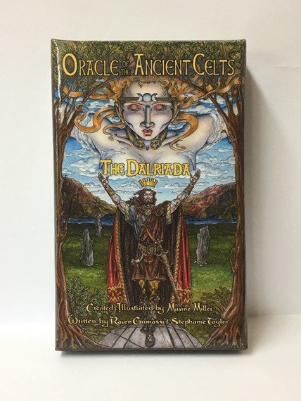 karty do tarota ORACLE OF THE ANCIENT CELTS ORACLE