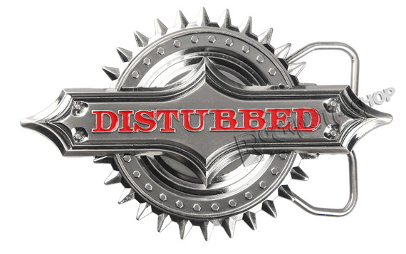 klamra do pasa DISTURBED - SPIKER