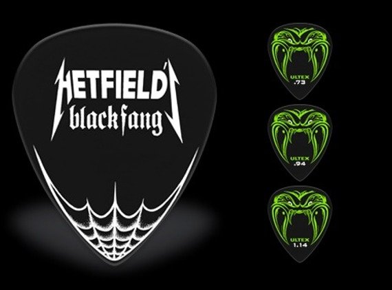 kostka gitarowa JAMES HETFIELD BLACK FANG (PH112P)