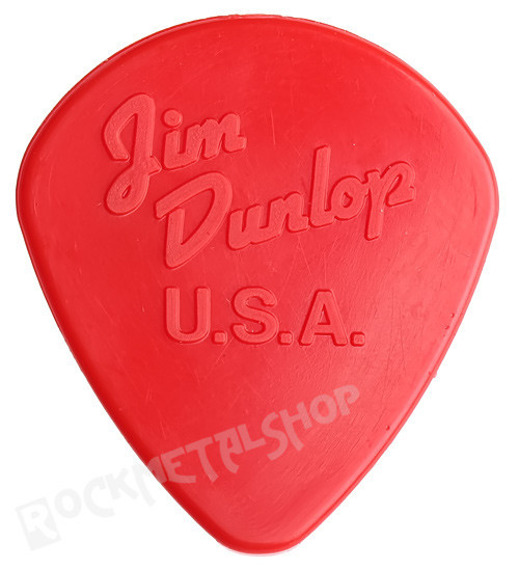 kostka gitarowa JIM DUNLOP - NYLON JAZZ II / 1.18 RED (47R2N)