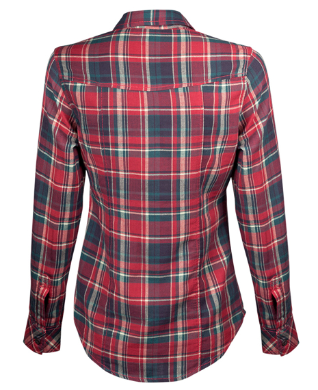 koszula AMY CHECKSHIRT - RED / CHECKRED