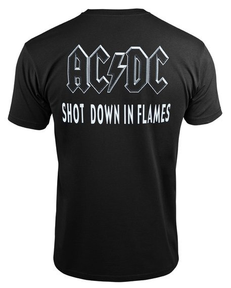 koszulka AC/DC - SHOT DOWN IN FLAMES