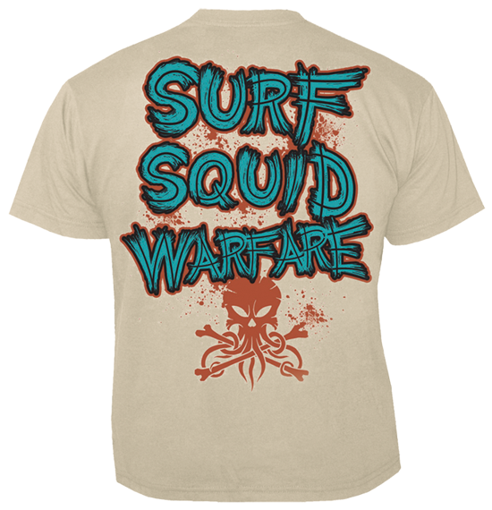 koszulka ALESTORM - SURF SQUID WARFARE