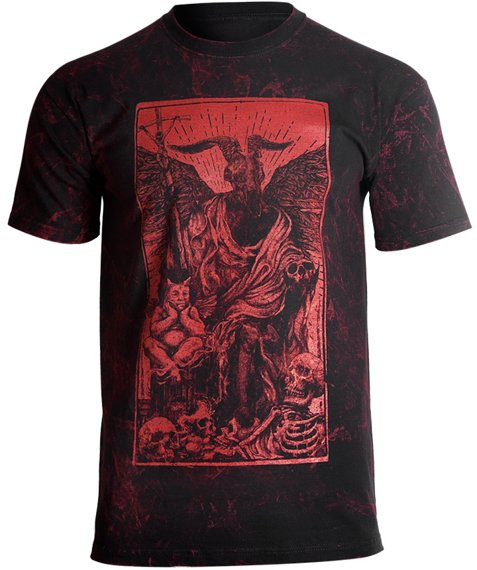 koszulka AMENOMEN - DEVIL (OMEN094KM ALLPRINT RED)