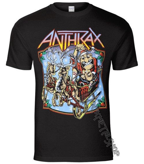 koszulka ANTHRAX - CHRISTMAS IS COMING