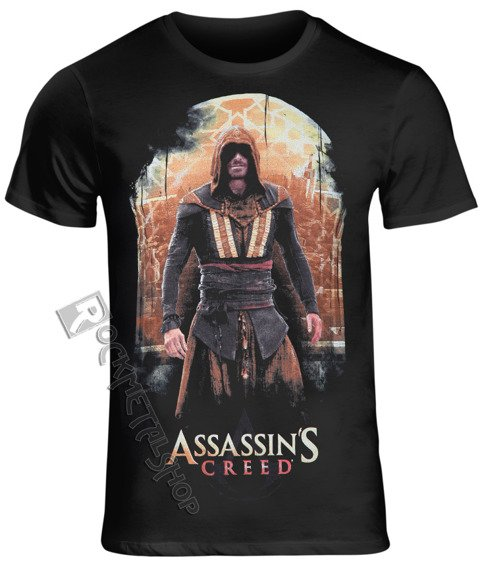 koszulka ASSASSIN' S CREED - CALLUM LYNCH czarna