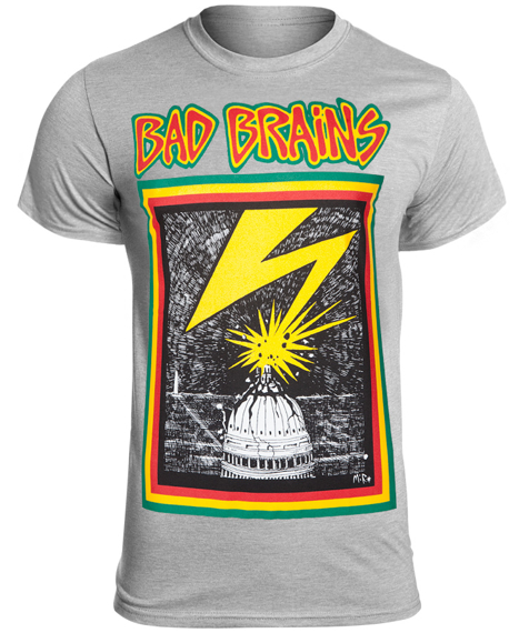 koszulka BAD BRAINS - BAD BRAINS