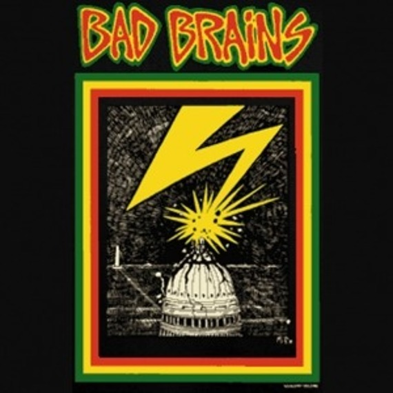koszulka BAD BRAINS - CAPITAL BLACK