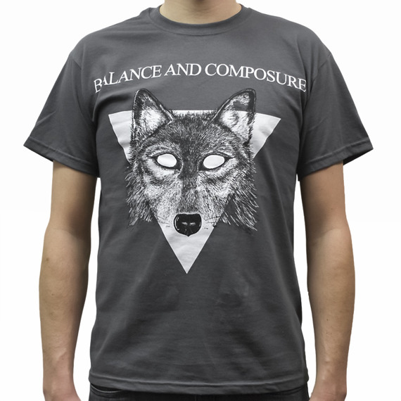 koszulka BALANCE AND COMPOSURE - WOLF