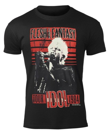 koszulka BILLY IDOL - FLESH FOR FANTASY TOUR 1984