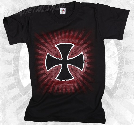 koszulka BLACK ICON - MALTAN CROSS (MICON021 BLACK)