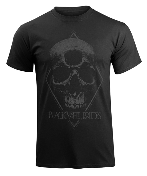 koszulka BLACK VEIL BRIDES - 3RD EYE SKULL