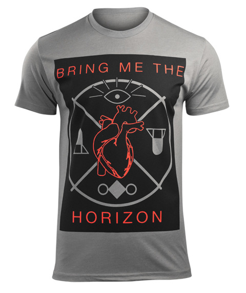 koszulka BRING ME THE HORIZON - HEART AND SYMBOLS