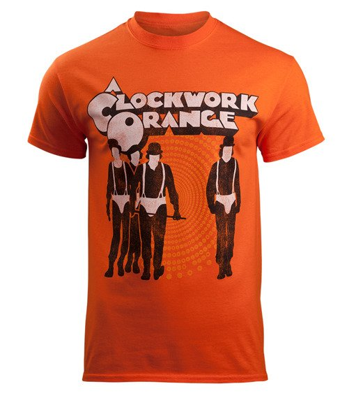 koszulka CLOCKWORK ORANGE - POSTER