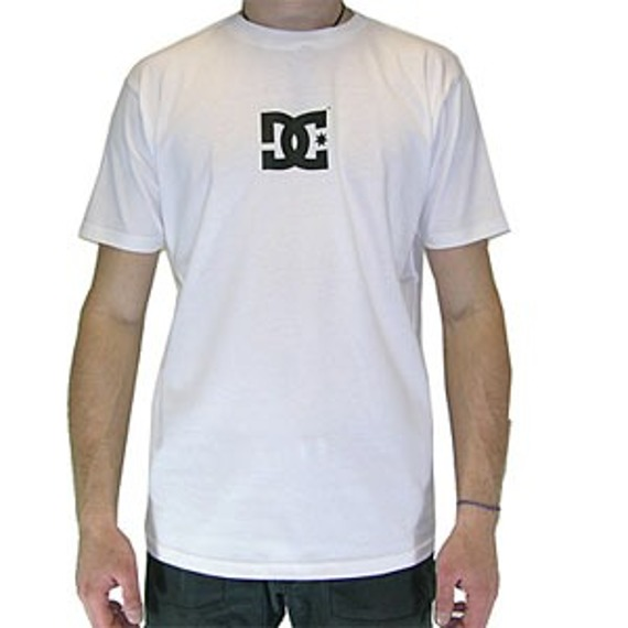 koszulka DC Solo Star Short Sleeve  - White